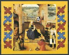 Gambia - Weihnachten Block 18 postfrisch 1985 Mi. 599