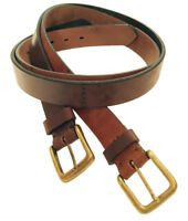 """Fulton"" 100% Argentine Leather Polo Belt - The Best Quality"