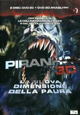 PIRANHA   REAL 3D   2 DVD    HORROR