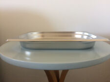 GENWARE STAINLESS STEEL 1/2 GASTRONORM PAN DEPT 40mm TRAY(32.5mm X 26.5mm)