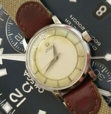 Early 1950s OMEGA Automatic SS Swiss Made 17 Jewels Men's Wrist Watch