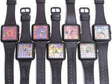 Hundertwasser Genesis-Edition komplett 7 Uhren Ars Mundi Laks Watch - ungetragen