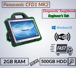 "MK2 Diagnostic 13.3"" PANASONIC TOUGHBOOK CF-D1 TABLET INTEL 847 2GB 500GB +PSU"