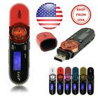 USB LCD Screen16GB Support Flash TF Player MP3 Music FM Radio