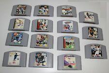Nintendo 64-N64 große Spielesammlung 15 Spiele.