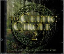 THE CELTIC CIRCLE 2 - MORE LEGENDARY MUSIC FROM A MYSTIC WORLD - MINT 2 CD SET