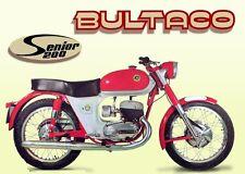 BULTACO SENIOR SEAT COVER BRAND NEW BULTACO SEAT COVER NEW