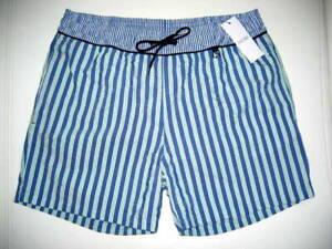 HOM SHORT DE BAIN bleu taille M PREPPY blue SHORT TRUNKS size M UK/34