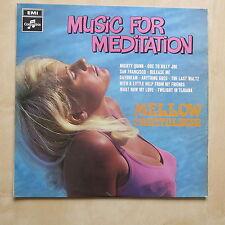 Vinyl-Schallplatten mit Musik für Meditation
