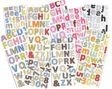 Chipboard Alphas Alphabets And Numbers Portacraft