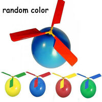 2pcs Balloon Helicopter Flying Toy Child Birthday Party Bag Stocking Filler Toys