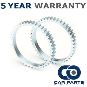 2x ABS Reluctor Rings Rear Fits Smart Fortwo (451) 1.0 Petrol (2007-2011)