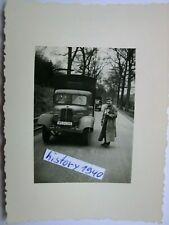 Foto mit WH - LKW und Soldat an der Maas - Belgien. (10)