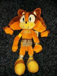 "Sticks The Badger | SEGA | TOMY Plush Soft Toy | Sonic Boom | 9""| RARE | VGC"