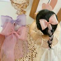 1 pcs Hairpin Fairy Princess Bow Headwear Hair Accessories Rope Braided S5U3