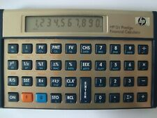 Ultra Rare Hewlett Packard HP 12c Financial Calculator Prestige