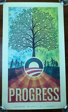Barack Obama Progress Scott Hansen ISO50 Official 2008 Campaign Poster Small