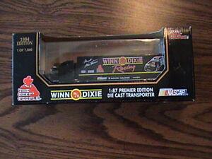 WINN DIXIE DIE CAST MARK MARTIN NASCAR TRUCK TRANSPORTER