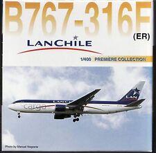 DRAGON WINGS LAN CHILE B767 CARGO FREIGHT 1:400 Diecast Civil Plane Model 55338