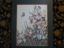 Haynes Signed and Numbered Foral  Print/ with Butterfly #196/2000
