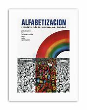 EDUCATION LITERACY RAINBOW NICARAGUA SANDINISTA Canvas art Prints