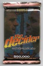 1996 Futera Cricket The Decider - UNOPENED PACK (38 Available)