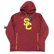 New USC Trojans Nike Football Hoodie Sweatshirt XL Team Issued Therma Fit Warm
