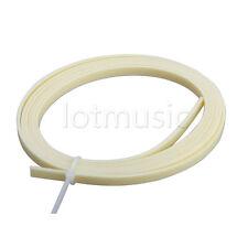 cream stripe Guitar Binding Purfling 5 Feet 1650x5x1.5mm Celluloid Guitar Parts