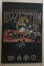Led Zeppelin The Song Remains The Same Poster Music Memorabilia Pin-up Mythgem