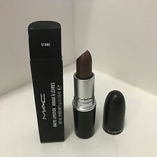 NEW ARRIVAL! AUTHENTIC MAC MATTE LIPSTICK - STONE (Muted Greyish Taupe Brown)
