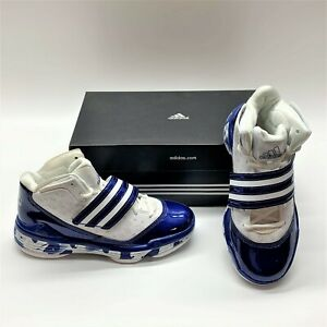 Adidas TS ACE Commander Team Basketball Casual Blue Sneakers Shoes Womens 6.5