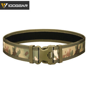 IDOGEAR Tactical Belt Outer Belt Quick Release Airsoft Military Duty Camo Gear