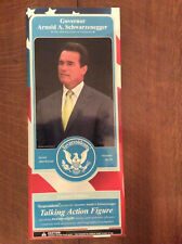 Toypresidents Governor Arnold Schwarzenegger Talking Action Figure NEW IN BOX