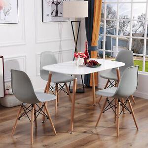 Oval Esstisch Küchentisch mit/oder Esszimmertisch Essgruppe Holztisch Stühle