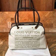 Louis Vuitton Articles de Voyage Leather Traveller Travel Bag,Cruise Tote Satche