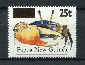 s8563) PAPUA & NEW GUINEA MNH** Nuovi** 1998, Crab overprint 1v