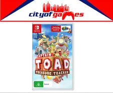 Captain Toad Treasure Tracker Nintendo Switch Brand New & Sealed In Stock