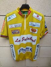 Maillot cycliste LA JALABERT Mazamet Castres camiseta collection maglia shirt M