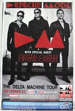 "DEPECHE MODE ""DELTA MACHINE 2013 TOUR"" SAN DIEGO CONCERT POSTER - New Wave Music"