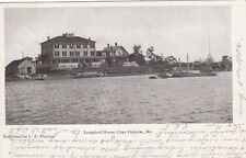 Postcard Cape Porpoise Maine Langsford House Udb 1906 photo card undivided