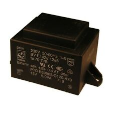 Gerth-serie siano 150.xx 0,33va Printtrafo 24v Safety-transformer