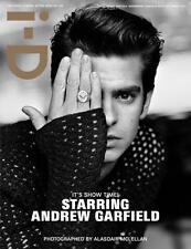i-D Magazine Andrew Garfield,Agyness Deyn,Andrej Pejic,Raf Simons,Lea Seydoux