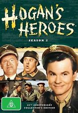 NEW HOGAN'S HEROES SEASON 2 40TH ANNIVERSARY COLLECTOR'S EDITION DVDS RATED G