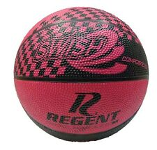 New Genuine 71952 Regent Swish Pink / Black Basketball Size 3 Indoor Outdoor