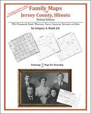 Family Maps Jersey County Illinois Genealogy IL Plat