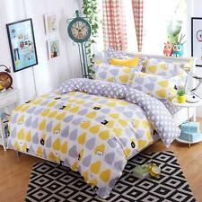 Pear Pig Single Double Queen King Bed Set Pillowcase Quilt Duvet Cover Kid Xmas