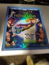 Disney PETER PAN RETURN TO NEVERLAND Blu-Ray DVD Digital Copy SlipCover OOP Rare