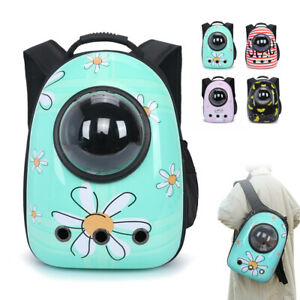 Comfort Dog Cat Carrier Backpack Travel Portable Capsule Astronaut Space Bubble