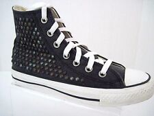 CONVERSE All Star Chuck Taylor Studded Hi Tops Black Women's Sneakers Size 6.5