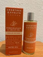 Crabtree 💕 Evelyn Pomegranate & Argan Oil Nourishing Nutri-Oil 100ml Nib